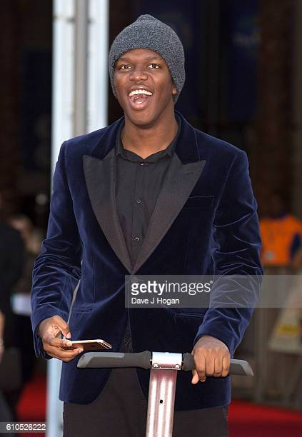 KSI attends the Laid In America World Premiere at Cineworld 02 Arena on September 26 2016 in London England