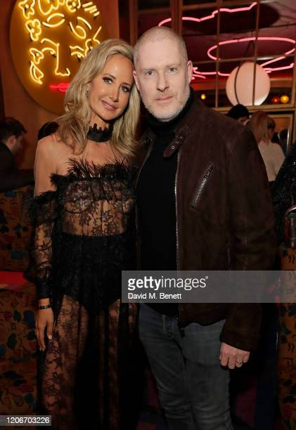 attends the launch of Lady Victoria Hervey and Scott Henshall's new brand 'Hervey Henshall' during London Fashion Week February 2020 at Sketchon...