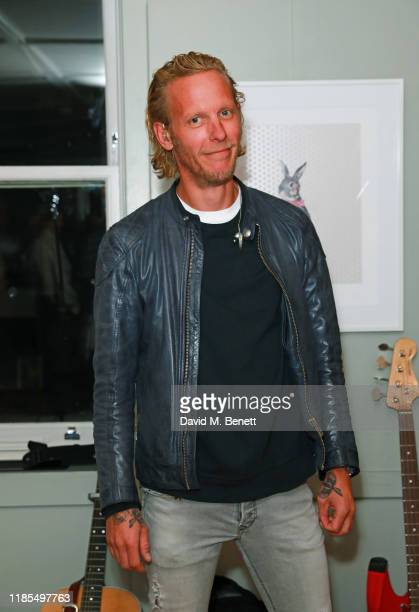 """çattends the launch of Laurence Fox's new album """"A Grief Observed"""" at The Groucho Club on November 04, 2019 in London, England."""
