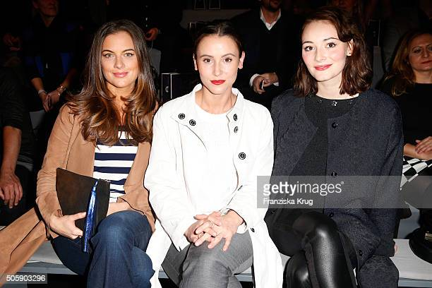 attends the Laurel show during the MercedesBenz Fashion Week Berlin Autumn/Winter 2016 at Brandenburg Gate on January 20 2016 in Berlin Germany