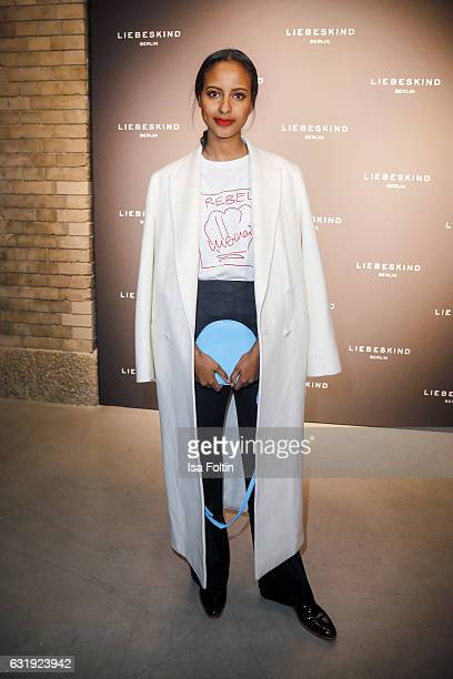 attends the Liebeskind Berlin housewarming party during the MercedesBenz Fashion Week Berlin A/W 2017 at on January 17 2017 in Berlin Germany