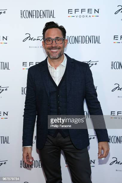 attends the Los Angeles Confidential Celebration for Portraits of Pride with GLAAD and Laverne Cox on June 4 2018 in Beverly Hills California