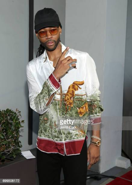 PARTYNEXTDOOR attends the Los Angeles Premiere Of Can't Stop Won't Stop at Writers Guild of America West on June 21 2017 in Los Angeles California