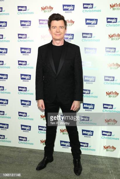 attends the Magic Of Christmas in association with Magic FM at London Palladium on November 24 2018 in London England