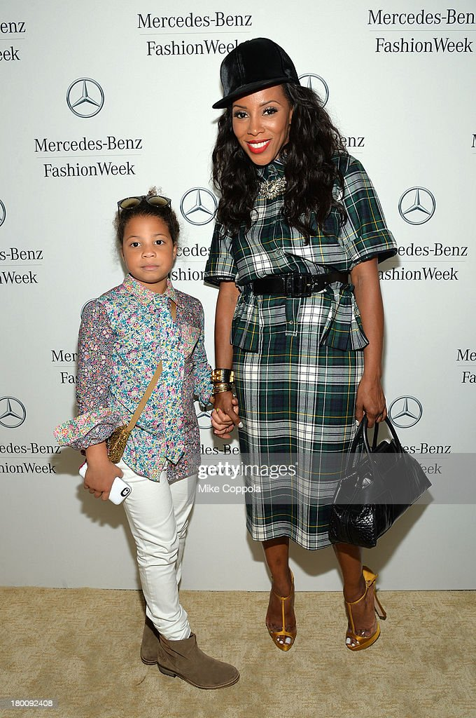 attends the Mercedes-Benz Star Lounge during Mercedes-Benz Fashion Week Spring 2014 on September 8, 2013 in New York City.