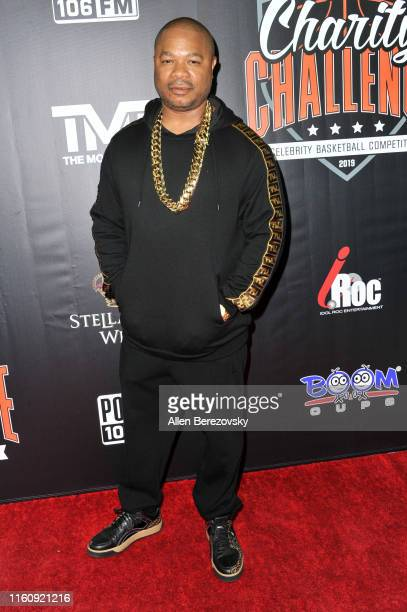 XZIBIT attends the Monster Energy $50K Charity Challenge Celebrity Basketball Game at UCLA's Pauley Pavilion on July 08 2019 in Westwood California