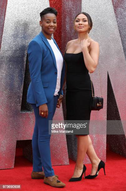 attends the 'Ocean's 8' UK Premiere held at Cineworld Leicester Square on June 13 2018 in London England