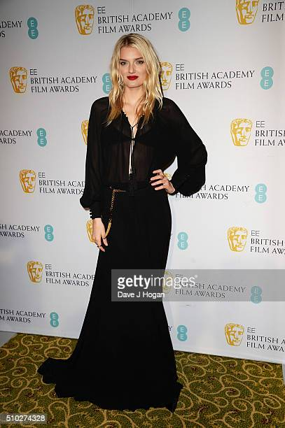 attends the official After Party Dinner for the EE British Academy Film Awards at The Grosvenor House Hotel on February 14 2016 in London England