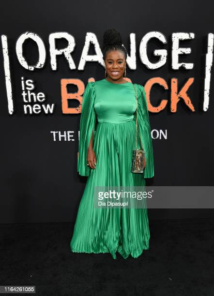 Attends the Orange is the New Black Season 7, World Premiere Screening and Afterparty 2019 on July 25, 2019 in New York City.