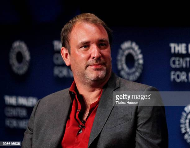 attends The Paley Center for Media presents special retrospective event honoring 20 seasons of 'South Park' at The Paley Center for Media on...