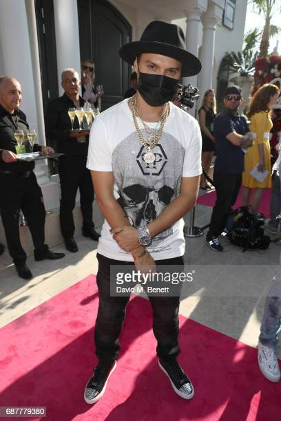 MONOPLY attends the Philipp Plein Cruise Show 2018 during the 70th annual Cannes Film Festival on May 24 2017 in Cannes France