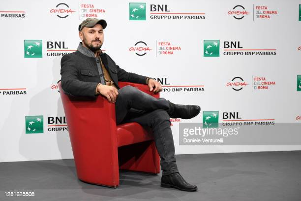 """Attends the photocall of the movie """"The Shift"""" during the 15th Rome Film Festival on October 22, 2020 in Rome, Italy."""