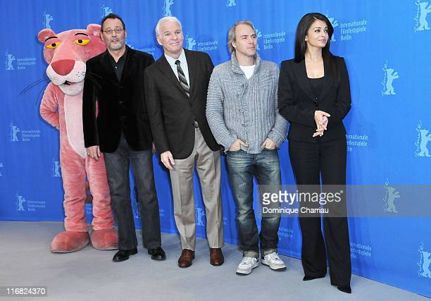 """Attends the """"Pink Panther 2"""" photocall during the 59th Berlin International Film Festival at the Grand Hyatt Hotel on February 13, 2009 in Berlin,..."""