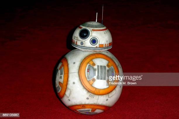 BB8 attends the premiere of Disney Pictures and Lucasfilm's Star Wars The Last Jedi at The Shrine Auditorium on December 9 2017 in Los Angeles...