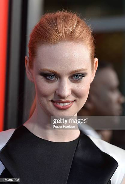 Attends the premiere of HBO's 'True Blood' Season 6 at ArcLight Cinemas Cinerama Dome on June 11, 2013 in Hollywood, California.