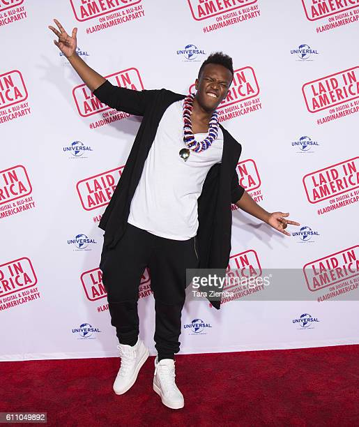 KSI attends the premiere of Laid In America at AMC Universal City Walk on September 28 2016 in Universal City California