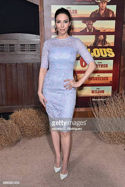 """Attends the premiere of Netflix's """"The Ridiculous 6"""" at AMC Universal City Walk on November 30, 2015 in Universal City, California."""