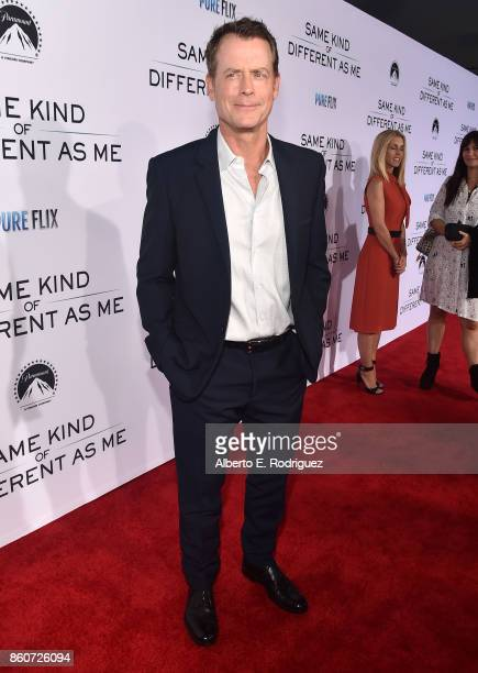 attends the premiere of Paramount Pictures and Pure Film Entertainment's 'Same Kind Of Different As Me' at Westwood Village Theatre on October 12...