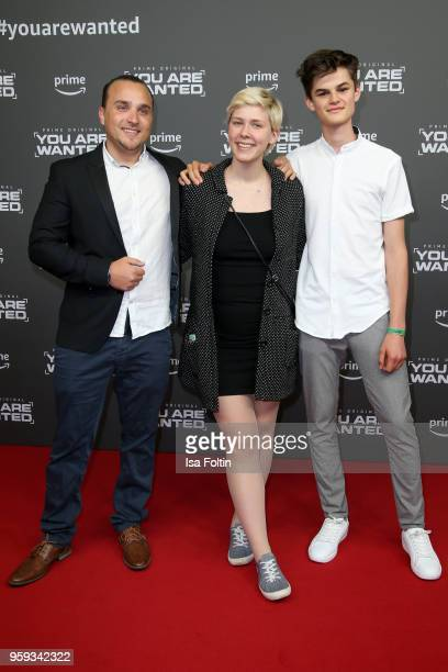 attends the premiere of the second season of 'You are wanted' at Filmtheater am Friedrichshain on May 16 2018 in Berlin Germany