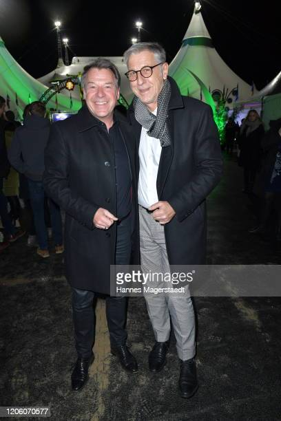 attends the premiere of Totem by Cirque du Soleil at Theresienwiese on February 13 2020 in Munich Germany