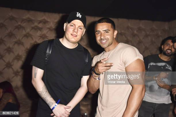 attends the Record Release Party of Jay Sean and DJ Johnny Good on June 29 2017 in Berlin Germany