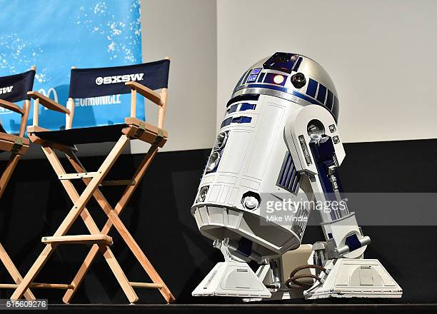D2 attends the screening of 'Secrets of The Force Awakens A Cinematic Journey' during the 2016 SXSW Music Film Interactive Festival at Paramount...