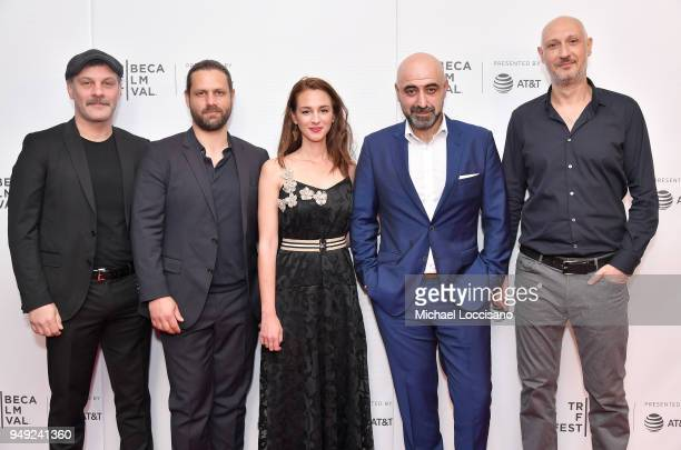 attends the screening of 'Smuggling Hendrix' during the Tribeca Film Festival at Cinepolis Chelsea on April 20 2018 in New York City