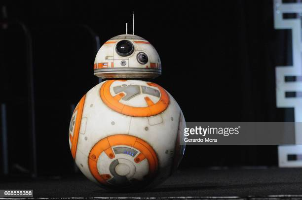 BB8 attends the Star Wars The Last Jedi during the 2017 Star Wars Celebration at Orange County Convention Center on April 14 2017 in Orlando Florida