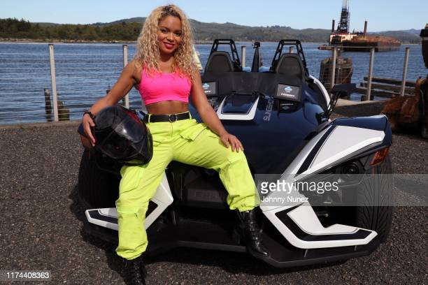 MAPY attends the Starstudded Adventure Ride hosted by Polaris Slingshot And RZR on September 12 2019 in Tenmile Oregon