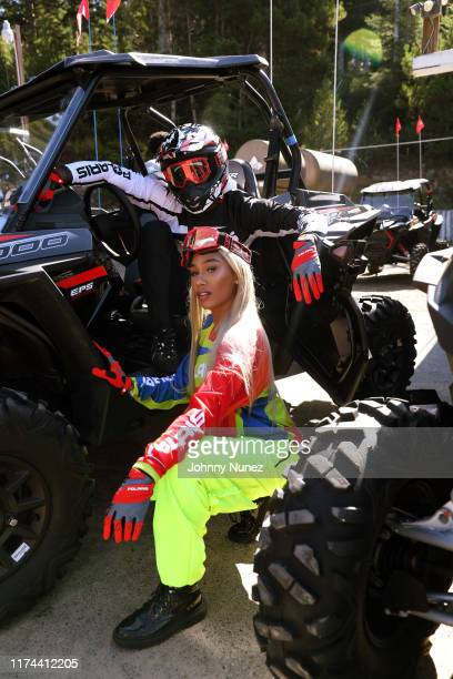 BIA attends the Starstudded Adventure Ride hosted by Polaris Slingshot And RZR on September 12 2019 in Tenmile Oregon