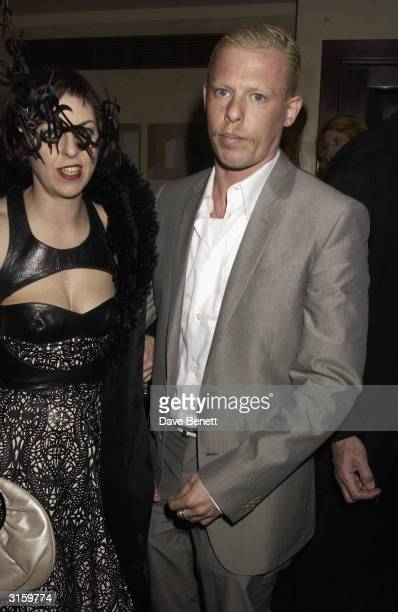 attends the Tatler dinner at Floriana at the Beauchamp place on March 19 2003