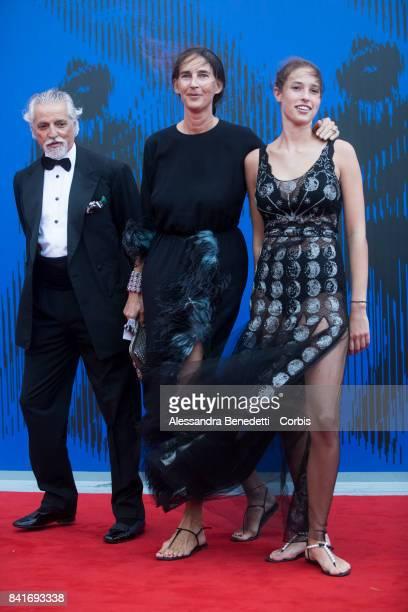 attends the The Franca Sozzani Award during the 74th Venice Film Festival at Sala Giardino on September 1 2017 in Venice Italy