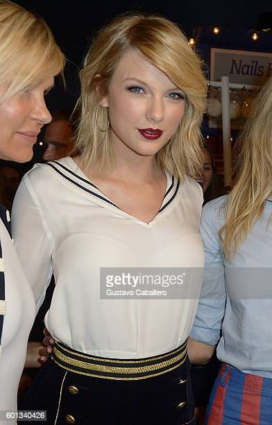 attends the #TOMMYNOW Women's Fashion Show during New York Fashion Week at Pier 16 on September 9 2016 in New York City