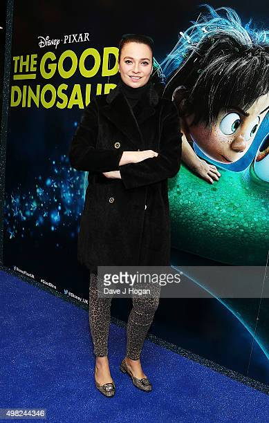 attends the UK Gala Screening of 'The Good Dinosaur' at Picturehouse Central on November 22 2015 in London England
