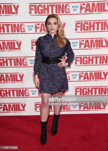 XXX attends the UK Premiere of Fighting With My Family at BFI Southbank on February 25 2019 in London England