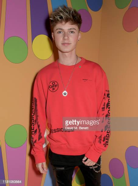 HRVY attends the Universal Music BRIT Awards AfterParty 2019 hosted by Soho House at The Ned on February 20 2019 in London England