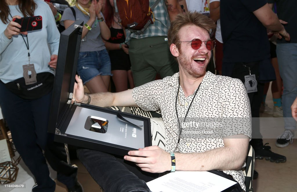 CA: YouTube Music Artist Lounge At Coachella 2019