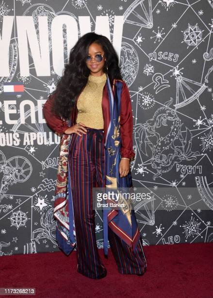 Attends TOMMYNOW New York Fall 2019 - Front Row & Atmosphere at The Apollo Theater on September 08, 2019 in New York City.