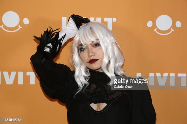 CC attends Trip 'R' Treat with LIVIT LA's Largest Live Streaming Competition on October 30 2019 in Hollywood California