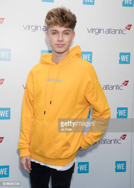 HRVY attends We Day UK at Wembley Arena on March 7 2018 in London England