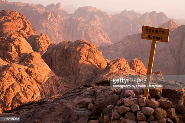 'Attention Danger' placed on Mount Sinai