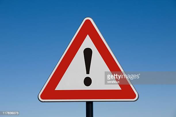 attention! - warning sign stock pictures, royalty-free photos & images