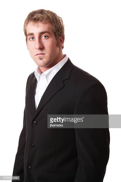 attentive businessman - open collar stock pictures, royalty-free photos & images