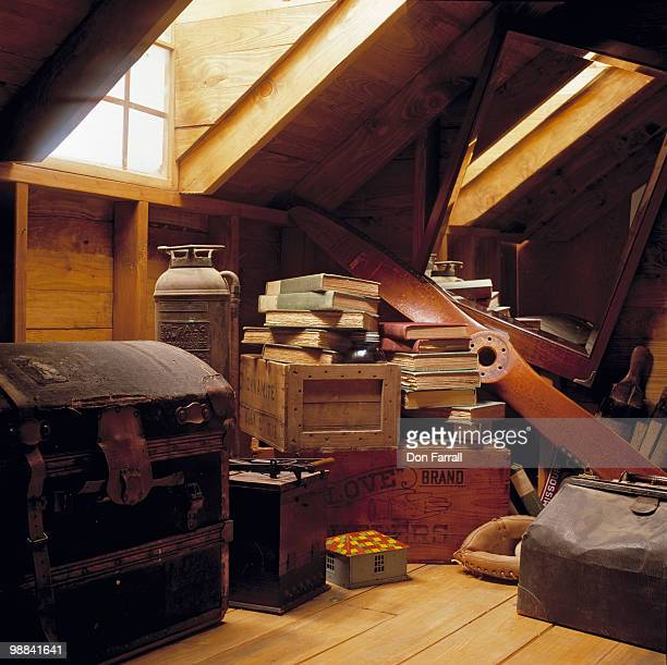 attic - storage compartment stock pictures, royalty-free photos & images