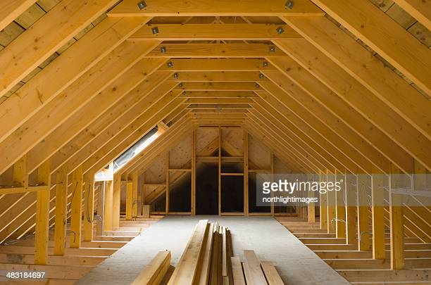 Dachgeschoß Veranstaltungsfläche in neu errichteten Haus