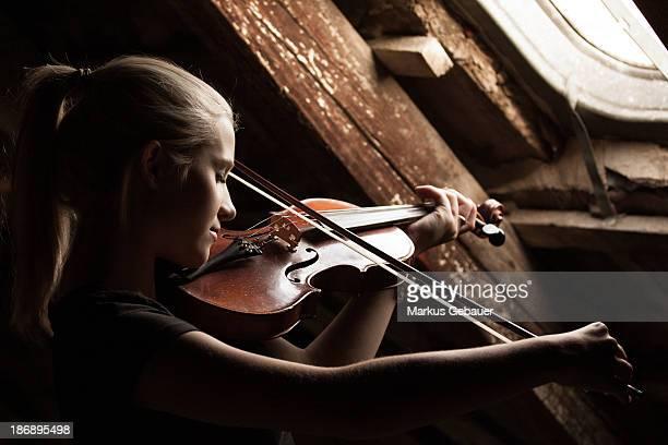 Attic violin