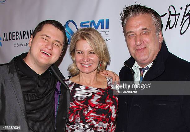 Atticus Baldwin Isabella Hofmann and Daniel Baldwin attend the 9th annual Denim Diamonds for Autism on October 19 2014 in Westlake Village California