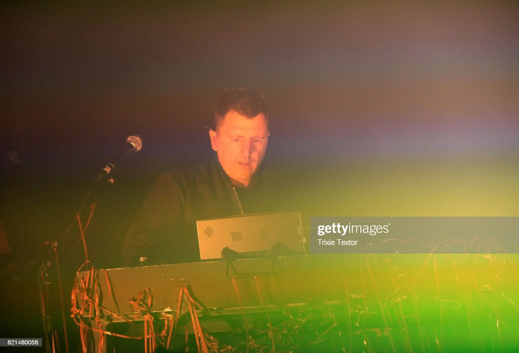 Atticus Ross of Nine Inch Nailsperforms onstage on day 3 of FYF Fest 2017 at Exposition Park on July 23, 2017 in Los Angeles, California.