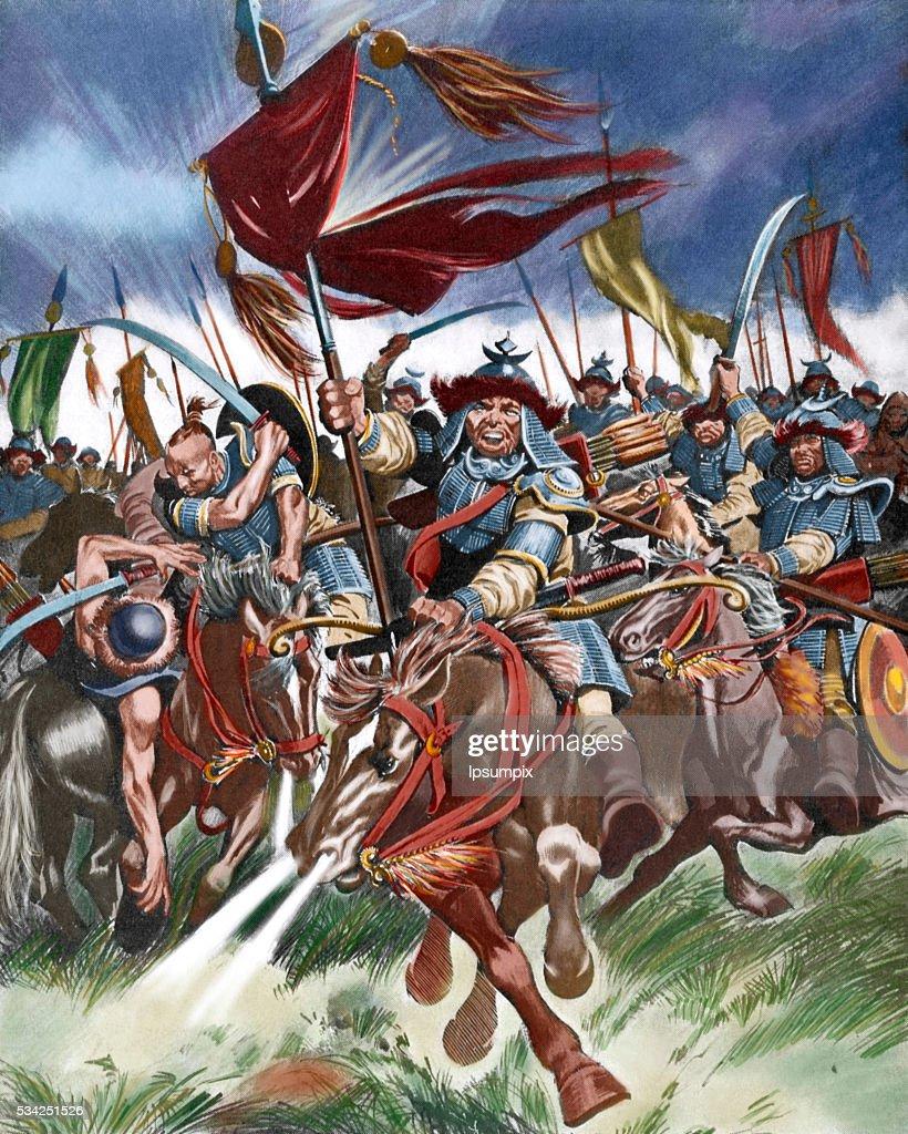 Attila (395-453), also known as Attila the Hun. : News Photo