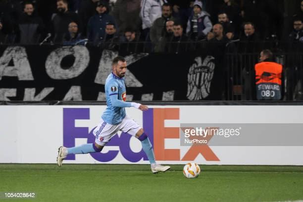 Attila Fiola . FC PAOK vs MOL Vidi FC 0-2 game at Toumba stadium in Thessaloniki, Greece for the UEFA Europa League Group L. Videon scored at 12'...